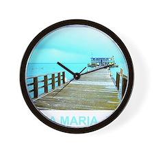 Cool Rod & Reel Pier Wall Clock