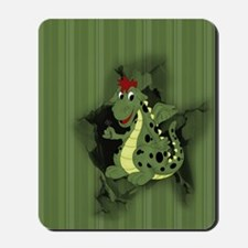 cd_shower_curtain Mousepad