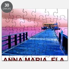 Pink and blue Rod & Reel Pier Puzzle
