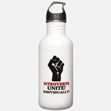 Introverts Unite Water Bottle