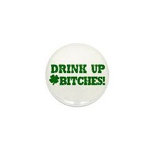 Drink up this Saint Patrick's Day Mini Button (10