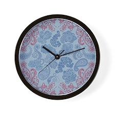 hennashower_curtain Wall Clock
