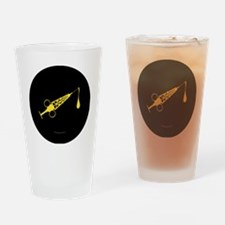 Hypo-Derrick (Yellow/Black) Drinking Glass