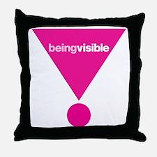 CRAZYFISH-383  (visible) Throw Pillow