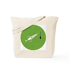 Hypo-Derrick (White/Green) Tote Bag