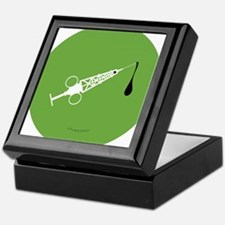 Hypo-Derrick (White/Green) Keepsake Box