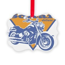 Harley Softail Graphic Ornament