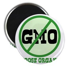 Say No to GMO Magnet