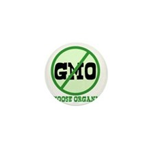 Say No to GMO Mini Button