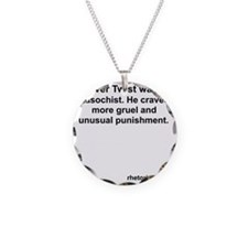 What Oliver Twist Wanted Necklace