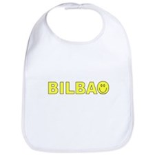Bilbao, Spain Smiley Face Bib