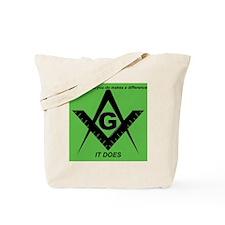Acting Masonic Tote Bag