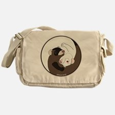 Yen-Yang Ferrets Messenger Bag