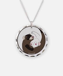 Yen-Yang Ferrets Necklace