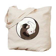 Yen-Yang Ferrets Tote Bag