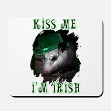 Kiss Me Possum Mousepad