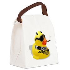 b ad duckie Canvas Lunch Bag
