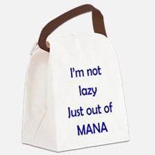 Out of Mana Canvas Lunch Bag