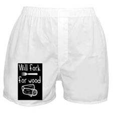 Will fork button Boxer Shorts