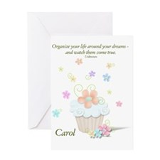 Carol Clipboard Greeting Card