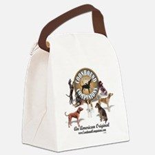 Logo + hounds Canvas Lunch Bag