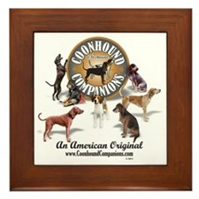 Logo + hounds Framed Tile