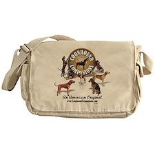 Logo + hounds Messenger Bag