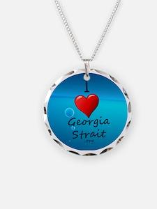 I Heart Georgia Strait Necklace