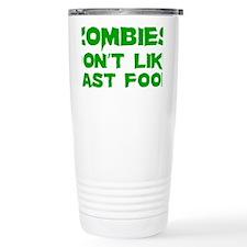 zombiesFastFood1D Travel Coffee Mug