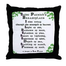 Saint Patrick's Breastplate Throw Pillow