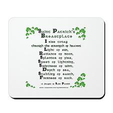 Saint Patrick's Breastplate Mousepad