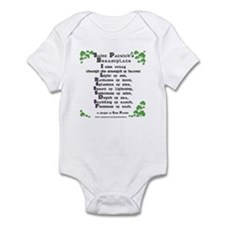 Saint Patrick's Breastplate Infant Bodysuit