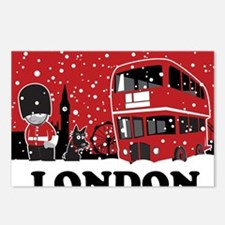 Xmas 2 Postcards (Package of 8)