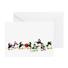 PenguinTD Greeting Card