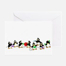 PenguinTD Greeting Card