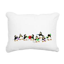 PenguinTD Rectangular Canvas Pillow