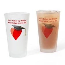 Wise Love Drinking Glass