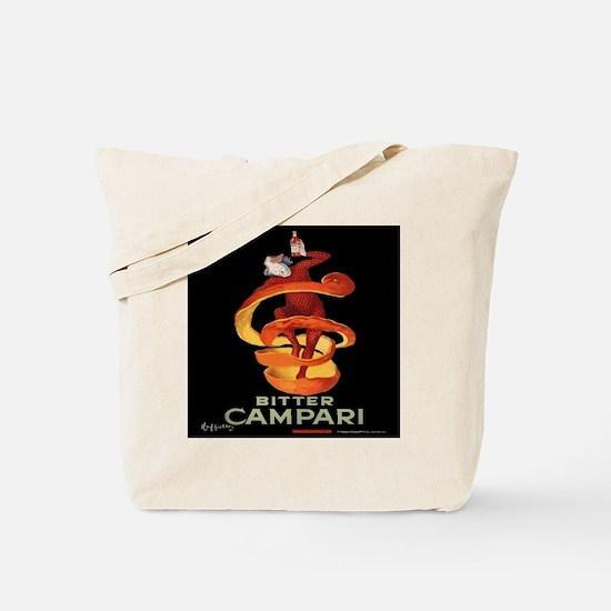 Vintage Italian Cappiello Campari Poster Tote Bag