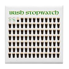 Irish Stopwach Beer Coaster