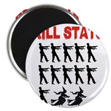 Zombie Kill Stats Magnet