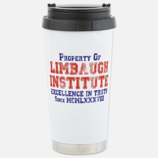 Property of Limbaugh Institute Stainless Steel Tra