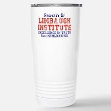 Property of Limbaugh Institute Travel Mug