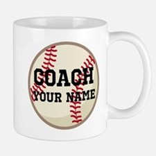 Personalized Baseball Coach Mugs