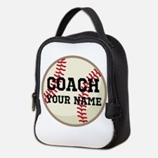 Personalized Baseball Coach Neoprene Lunch Bag