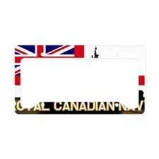Royal Canadian Navy License Plate Holder