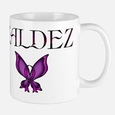 Valdez Domestic Violence Awareness Butt Mug