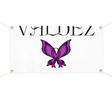 Valdez Domestic Violence Awareness Butterfl Banner
