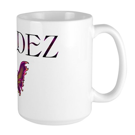 dv valdez awareness Large Mug