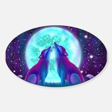 Howling Together Decal