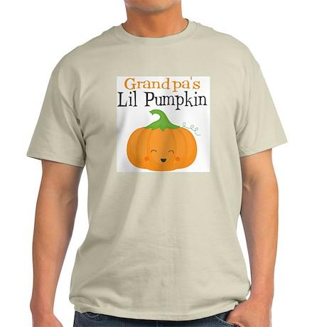 Grandpas Little Pumpkin Light T-Shirt